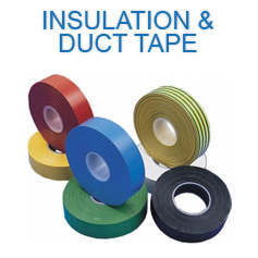 Insulation and Duct tape