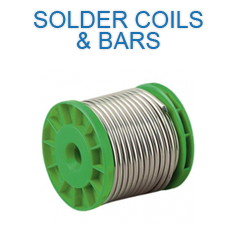 Solder Coils and Bars