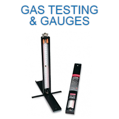 Gas testing and gauges
