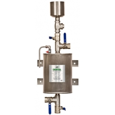 Stainless Steel Chemical Dosing Pots & Air/Dirt Separators