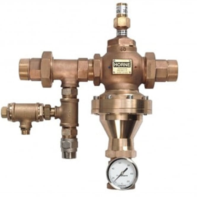 Industrial Thermostatic Mixing Valve: ACV Horne Thermostatic Mixing Valve (Recirculation Version