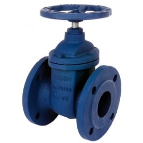 Art 105 Cast Iron PN16 Flanged Gate Valve to BS EN1171
