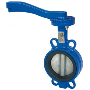 Art 115 Ductile Iron Wafer Butterfly Valve