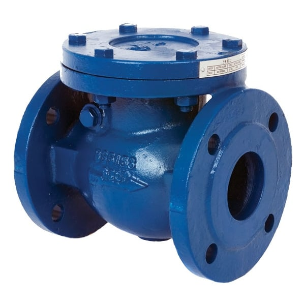Albion art cast iron pn flanged swing check valves