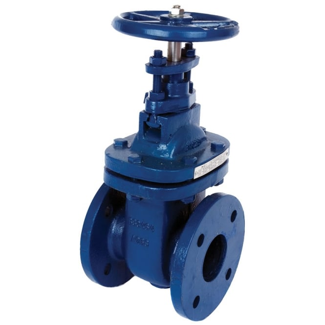 Albion art cast iron table e d flanged gate valve to
