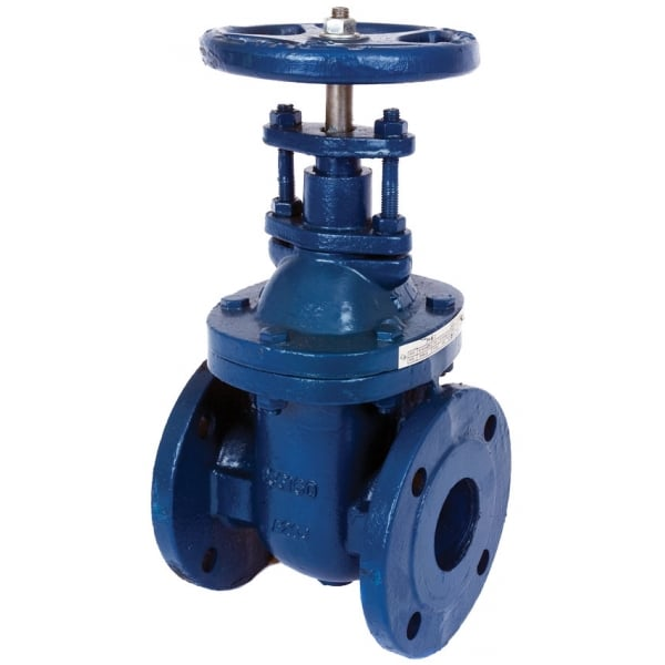 Albion art cast iron pn flanged gate valves to bs