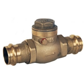ART194PRS Brass Swing Check Valve (M Press Fit Ends)