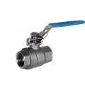 Albion Stainless Steel Ball Valve BSP Parallel 2 Piece ART902P