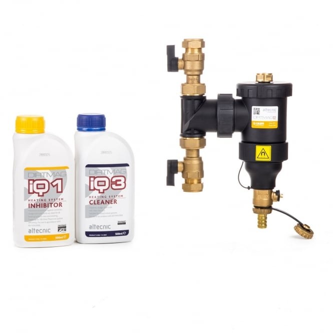 Altecnic 22mm Dirtmag IQ Compliance Pack A (Inhibitor & Cleaner Included)