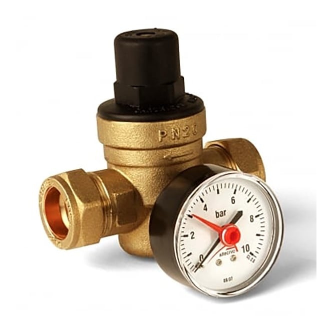 Altecnic Pressure Reducing Valve 15mm-22mm ER-PRV15 - Central ...