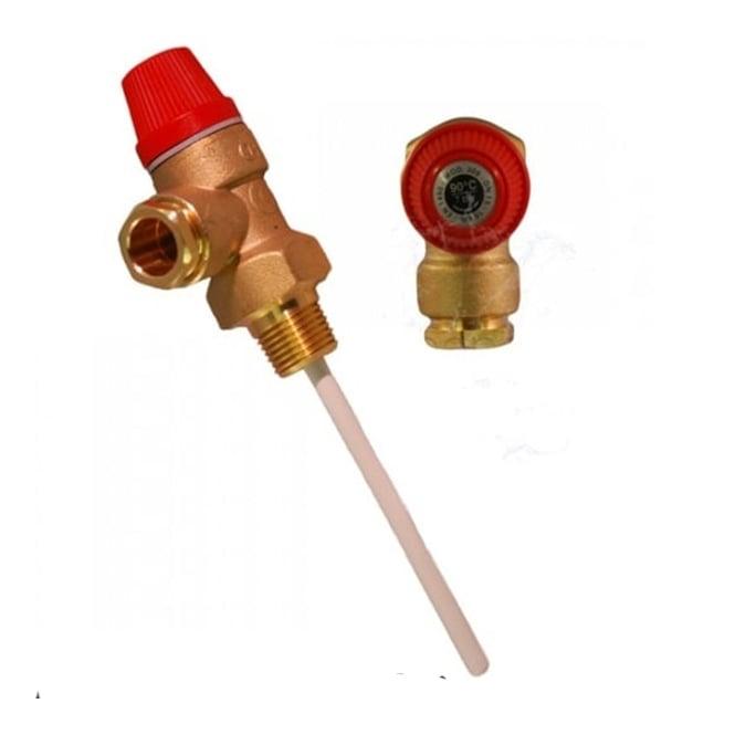 Altecnic Temperature/Pressure Relief Valves