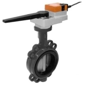 Butterfly Valve C/W 24v Actuator - SR24A-5