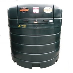 Carbery Oil Tank Fuel Premium Vertical Point 2500FP (Dia 1870mm x H 1900mm )