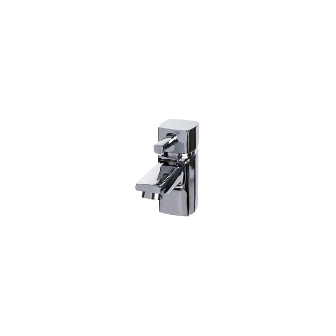 Casselli Nero Mini Mono Basin Mixer with waste