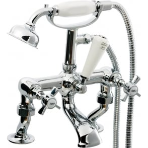 Time Cranked Traditional Bath Shower Mixer TIM001
