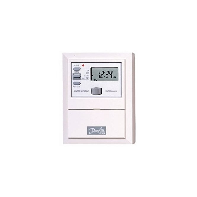 Danfoss 102E7 7 DAY Electronic Mini-Programmer 087N653600