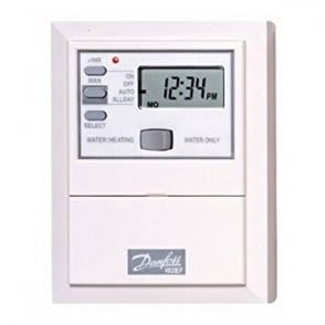 Danfoss 102E7 7 DAY Electronic Mini-Programmer 087N653600