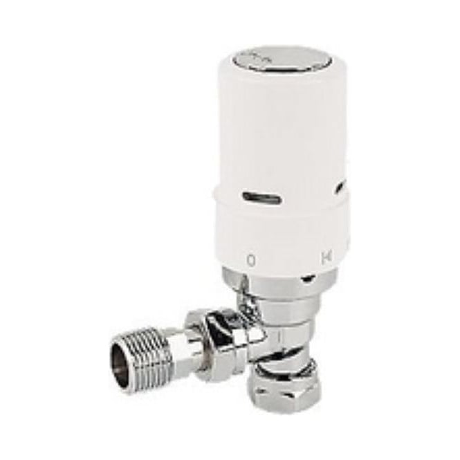 Danfoss 15/10/8MM Ras-D2 Angle TRV White
