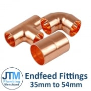 Endfeed Fittings 35mm - 219mm