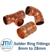 Solder Ring Fittings 8mm-28mm