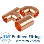 Endfeed Fittings 8mm-28mm