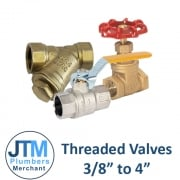 "Threaded Valves 3/8"" to 4"""