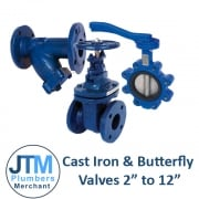 "Ductile Iron Butterfly, Gate & Check Valves 2"" - 12"""