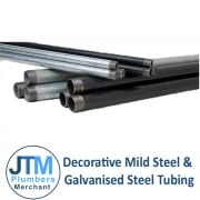 Decorative Mild Steel & Galvanised Steel Tubing