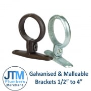 "Galvanised & Malleable Brackets 1/2""-4"""