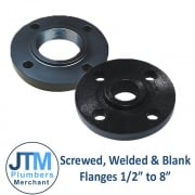 "Screwed, Welded & Blank Flanges 1/2"" to 8"""