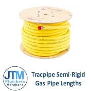 Tracpipe Semi Rigid Gas Pipe Lengths