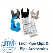 Talon Pipe Clips & Pipe Accessories