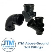 JTM Above Ground Soil Fittings