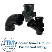 Floplast Above Ground Soil Fittings