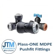 Plasson PLASS-ONE Pushfit Fittings