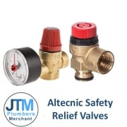 Altecnic Safety Relief Valves & TP Valves