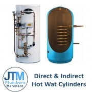 Direct & Indirect Hot Water Cylinders