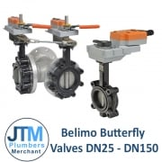 Belimo Butterfly Valves DN25 to DN150