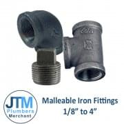 "Malleable Fittings 1/8""-4"""