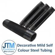 "Decorative Mild Self Colour Steel Tubing (1/2"" to 1 1/2"")"