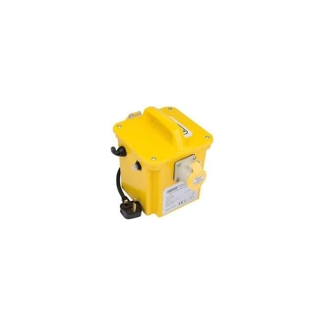 DPT100/1B 1KVA 230V TO 110V Portable Site Transformer