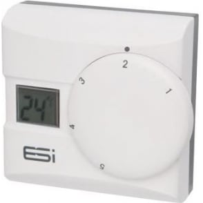 ESI Digital LCD Display Thermostatic Room Stat
