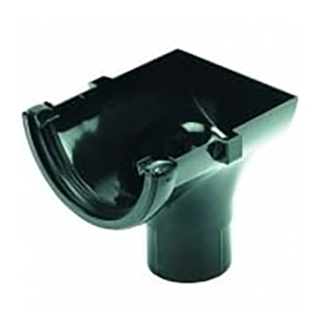 Floplast 112mm Round Stop End Outlet RO2