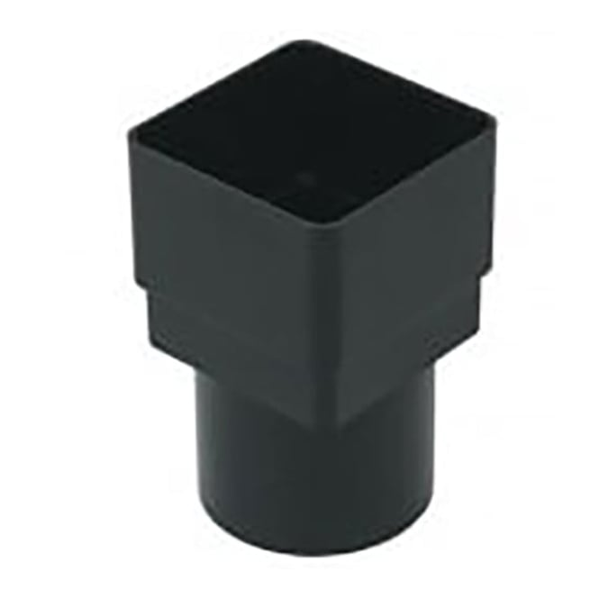 Floplast 65mm Square To 68mm Round Pipe Adaptor RDS2