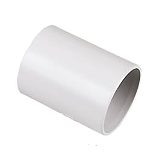 Floplast solvent weld straight coupling pipe fittings