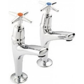 Mercia Cross Top High Neck Sink Tap