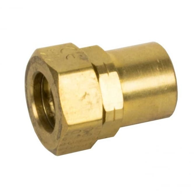 Gastite Straight Fitting Assembly Brass Female Bspt Pipe