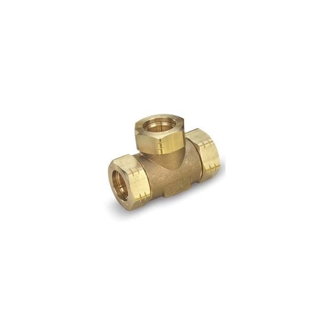 Gastite XR2 Series Brass Tee Fitting