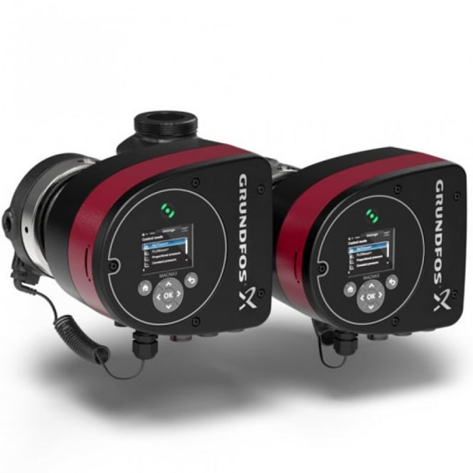 Grundfos Magna3 D (180) 'A' Rated/EuP Ready Variable Speed Circulator 240V Twin Head
