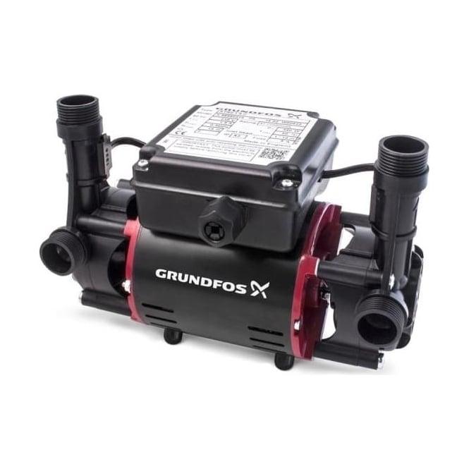 Grundfos SSR2 Postive Head Shower Booster Pump Range (Twin Impeller)
